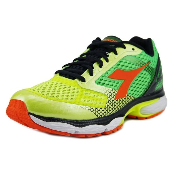 Diadora N-6100-4 Men Yellow Fluo/Green Fluo Sneakers Shoes