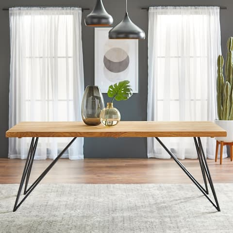 Lifestorey Phyllis Solid Wood Dining Table