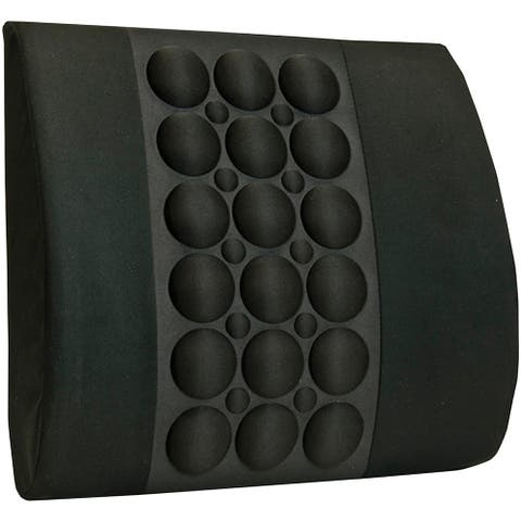 Brownmed IMAK Ergo Back Cushion and Lumbar Support - Black