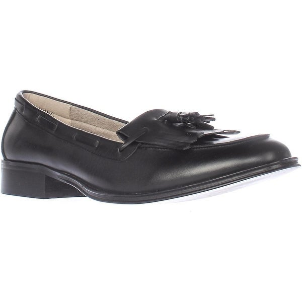 Wanted Charlie Kiltie Dress Loafers, Black