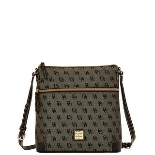 Dooney & Bourke Madison Signature Crossbody (Introduced by Dooney & Bourke at $168 in Nov 2015) - Black