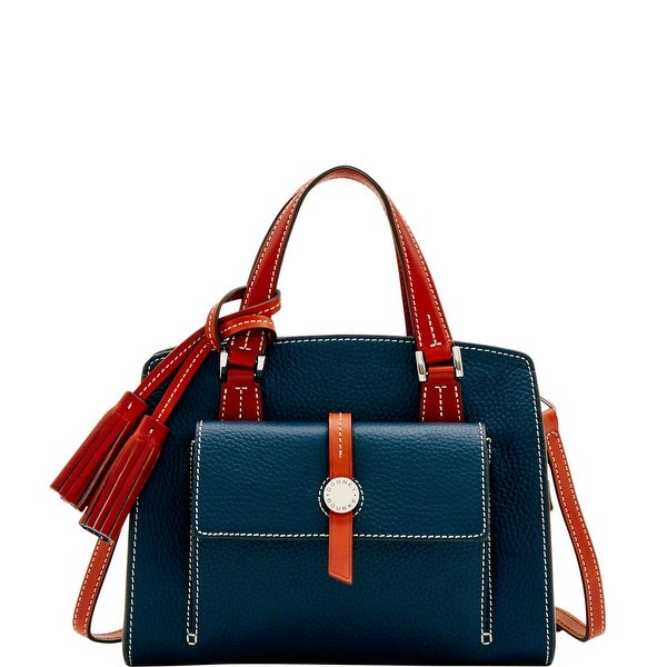 Dooney & Bourke Cambridge Small Satchel (Introduced by Dooney & Bourke at $298 in Oct 2016) - Midnight Blue