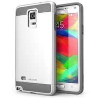 i-Blason Samsung Galaxy Note 4 Case - Unity Series Armored Hybrid TPU plus PC Case - White
