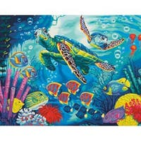 """Sea Turtles - Paint Works Paint By Number Kit 14""""X11"""""""