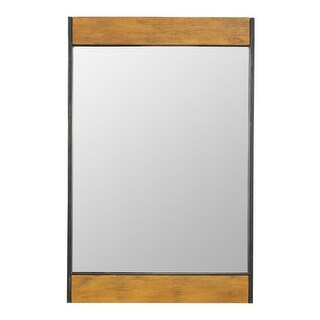 Aspire Home Accents 5544 Cliveden 21 Inch x 32 Inch Rectangular Flat Metal and W - N/A