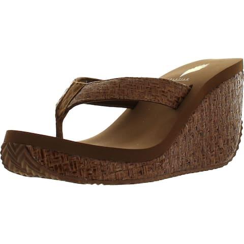 14c776b2f996 Volatile Womens Cha-Ching Wedge Sandal