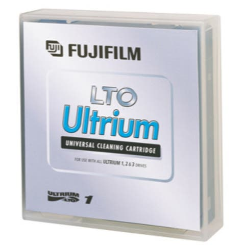 Fuji LTO Ultrium Cleaning Cartridge, 600004292, Ultrium-1, 2, 3, 4, 5, 6, 7, 8 50 Pass, TAA
