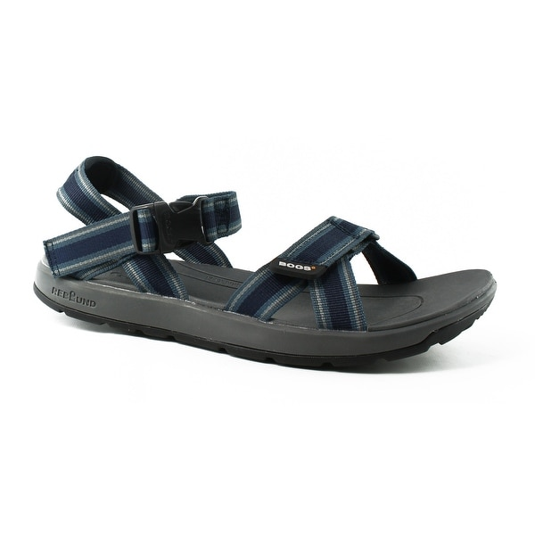 04fbc32bcbbf Shop Bogs Mens Rio Blue Sport Sandals Size 12 - Ships To Canada ...