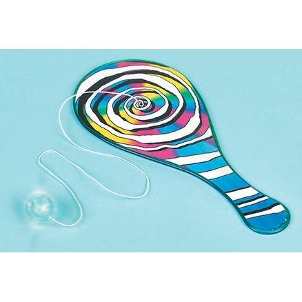 Flashing Paddle Ball - Party Favors 6/Pkg