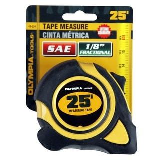 "Olympia Tools 43-234 Tape Measure, 25' x 1"""