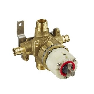 American Standard R128 Pressure Balance Rough Valve Body Only with PEX Inlets/Universal Outlets for Cold Expansion