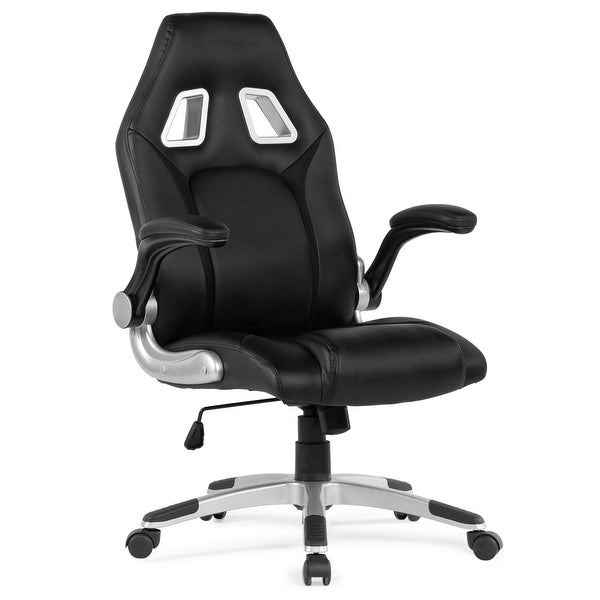 Shop Belleze Racing High Back Office Chair Faux Leather