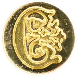 Letter C - Personal Initial Seals With Wax