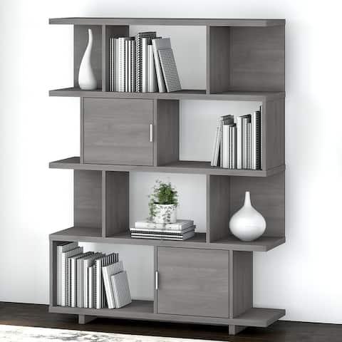 Madison Avenue Geometric Etagere Bookcase from kathy ireland? Home