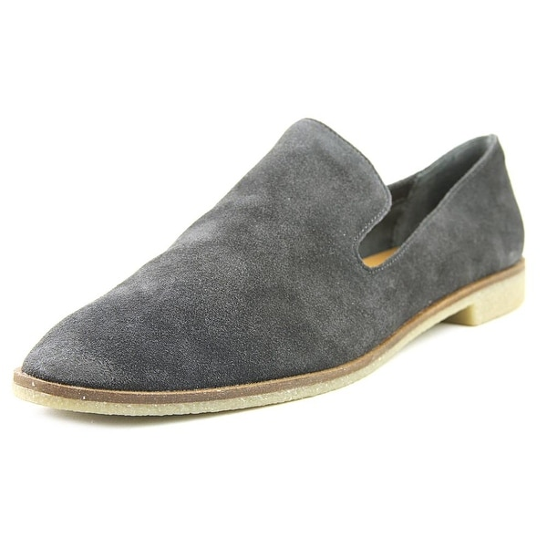 Dolce Vita Carla Women Round Toe Suede Gray Loafer