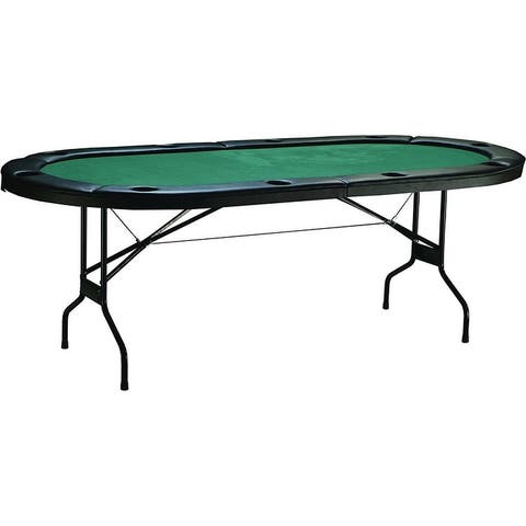 Triumph Sports Gambler Folding Poker Table with Padded felt surface / 46-2015