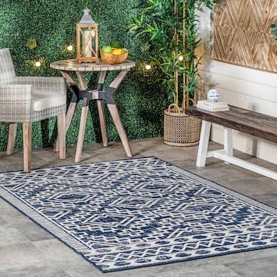 nuLOOM Cari Moroccan Tribal Indoor/Outdoor Area Rug