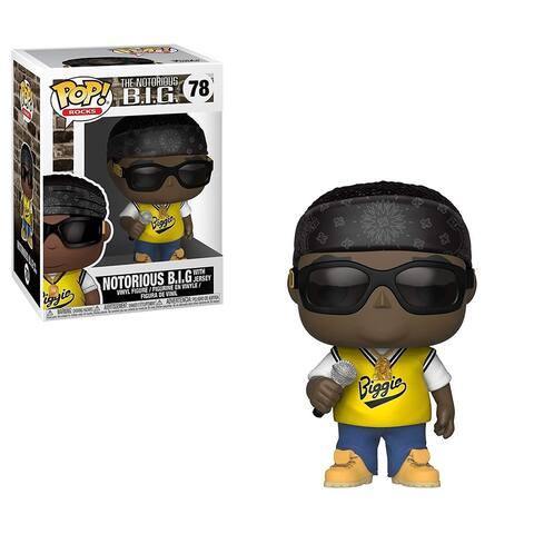 Funko POP Rocks Vinyl Figure - Notorious B.I.G. In Jersey - Multi