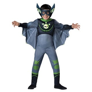 Boys Wild Kratts Green Bat Costume (3 options available)