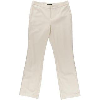 Lauren Ralph Lauren Womens Wool Stretch Dress Pants