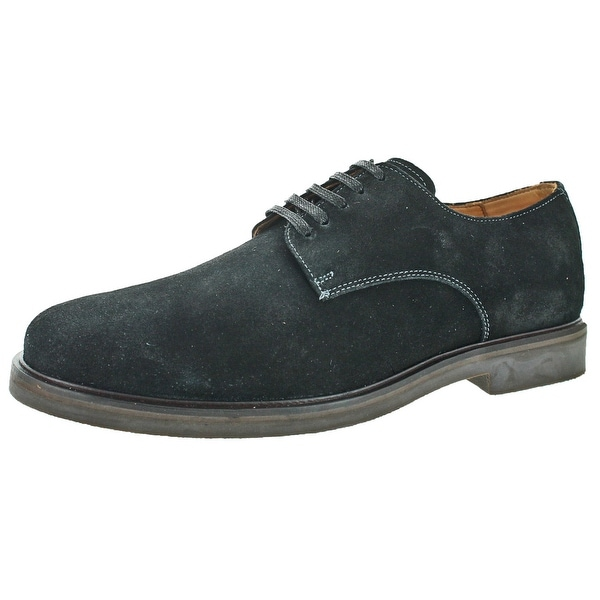 Donald J Pliner Placido Men's Suede Oxford Dress Shoes