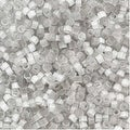 Miyuki Delica Seed Beads 11/0 - Gray Silk Satin DB679 - 7.2 Grams - Thumbnail 0