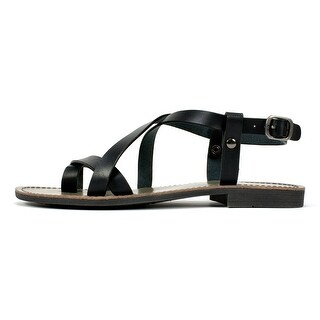 White Mountain Womens CAELA Open Toe Casual Flat Sandals