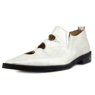 Comme des Garcons Spheres Pointed Toe Leather Loafer
