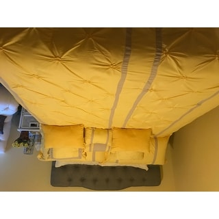 Chic Home Veronica Yellow 12-Piece Bed in a Bag Comforter Set