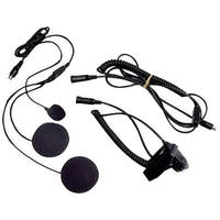 Midland Avph2 2-Way Radio Accessory (Closed-Face Helmet Headset Speaker/Microphone)