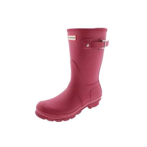 Hunter Womens Original Short Rain Boots Waterproof Wellington