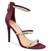 Bebe Womens Berdine Open Toe Casual Strappy Sandals