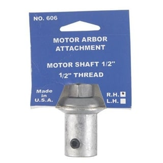 "Chicago 606-5 Work Arbor Attachment, 1/2""-20 Thread, 1/2"" Shaft"