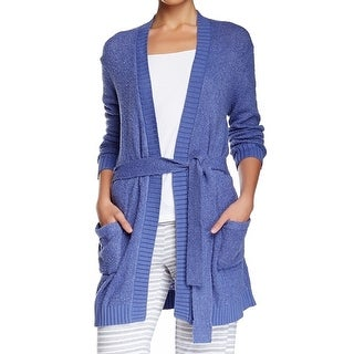 Free Press NEW Blue Women's Size Small S Robes Belted Sleepwear