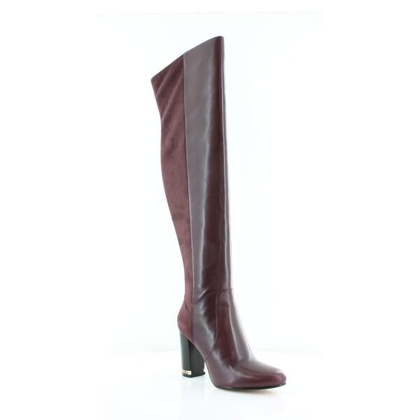 Michael Kors Sabrina Tall Women's Boots Plum