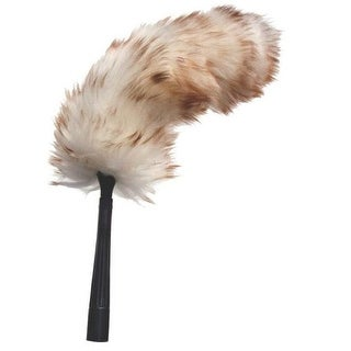 Unger 92149 Flex Shaft Lambs Wool Duster, 17-1/2""