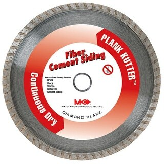 Mk Diamond 7in. Plank Kutter Fiber Cement Siding Continuous Dry Blade