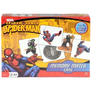 Memory Match Game Spider-Man by Cardinal