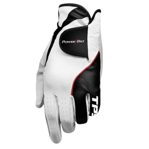 Powerbilt TPS Cabretta Tour Golf Glove - Mens RH Medium Large