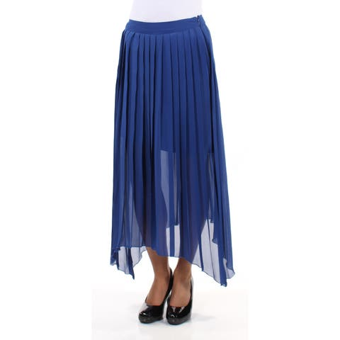 KENSIE Womens Blue Maxi Skirt Size: XS
