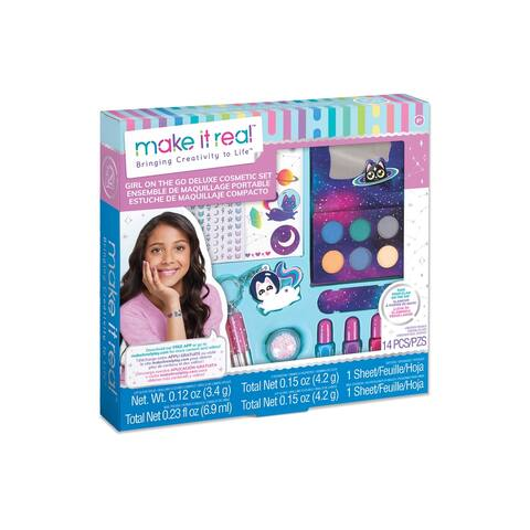 Girl-on-the Go Makeup Set - Purple - medium