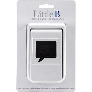 Little B Punch-Speech Bubble
