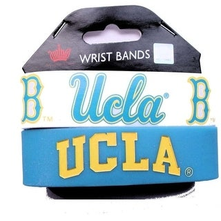 UCLA Bruins Rubber Wrist Band Set Of 2 NCAA