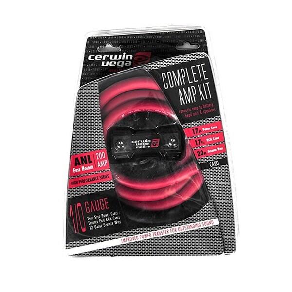 Cerwin Vega 1/0ga complete amp kits