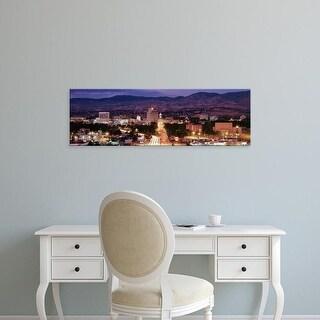Easy Art Prints Panoramic Images's 'Boise, Idaho, USA' Premium Canvas Art