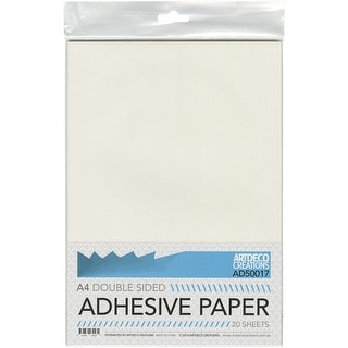 Couture Creations Double-Sided Adhesive Paper 20/Pkg-A4