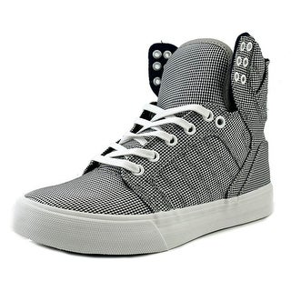Supra Skytop Round Toe Canvas Sneakers