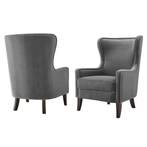 Copper Grove Rennes Wingback Accent Chair