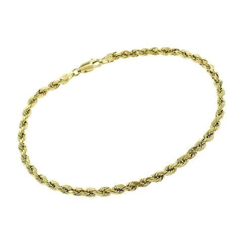 Buy 10k Gold Bracelets Online At Overstock Our Best Bracelets Deals