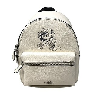 Coach Mini Charlie Backpack With Minnie Mouse Motif (2 options available)